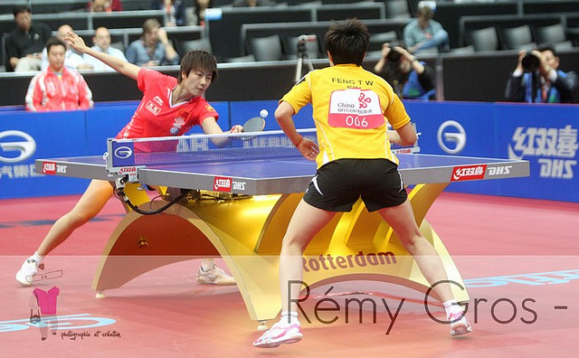 Table tennis footwork, table tennis