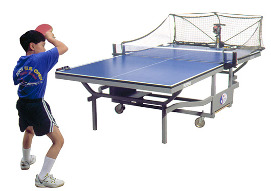 乒乓發球機,「無敵」時的最佳對手