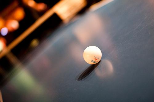 乒乓球訓練小朋友買那些球最好? (Image courtesy of semisara)