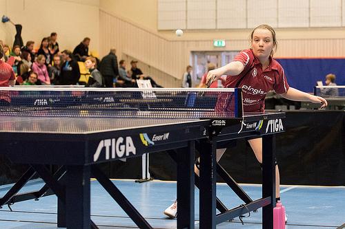 乒乓比賽適合初學小朋友的,容易找嗎?  (Image courtesy Mikael Wiman at Flickr)