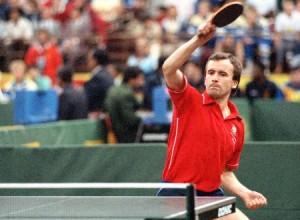 八十年代的波蘭乒乓球王谷巴