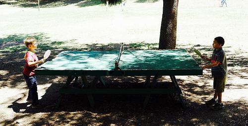 有什麼乒乓比賽,適合初學的小朋友參加? (Image courtesy of Nabeel H at Flickr.com)