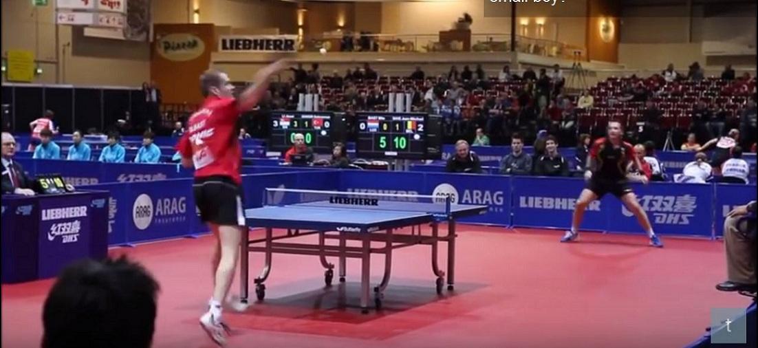 乒乓球正手進攻技術,虎虎生風三要點 (圖片來源:Youtube.com)