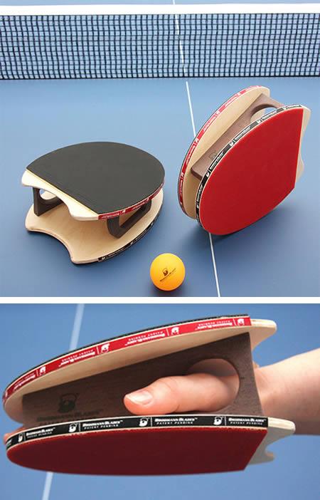 「手套形」乒乓球拍(圖片來源:comixo.com)