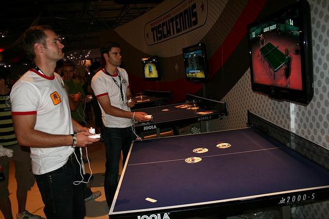 善用乒乓球教學影片增進技術五步驟  (Image courtesy of włodi at Flickr.com)