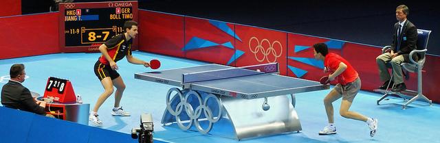 乒乓比賽新手表現馬上提升五要點 (Image courtesy of Clive at Flickr)
