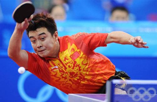 王皓退役,乒乓球直板橫打第一人,結束戲劇性球員生涯 (圖片來源:www.woyingyuan.com)