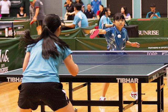 怎决定孩子是否要投入專精乒乓球訓練? (image courtesy