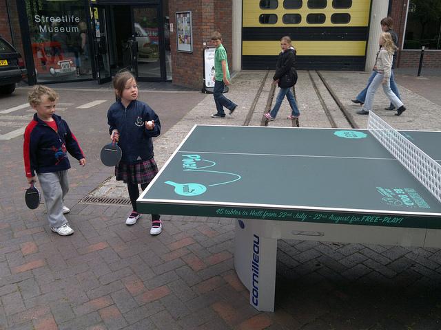 乒乓球矮枱是什麼,有何用處? (Image courtesy of Mark Healey at Flickr)