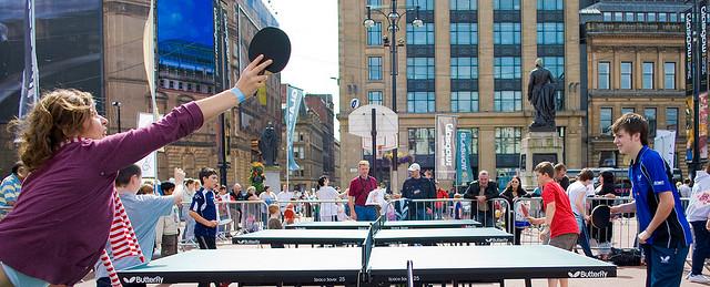 練習Table Tennis,三種令你進步神速之習慣 (Image Courtesy of Flickr)