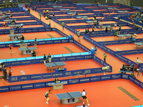 ITTF要加高球網?乒乓球規則十八年九改 (Image courtesy of raneko at Flickr)