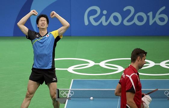 從里約奧運乒乓球單打賽事,看世界球壇格局(圖片來源:路透社)