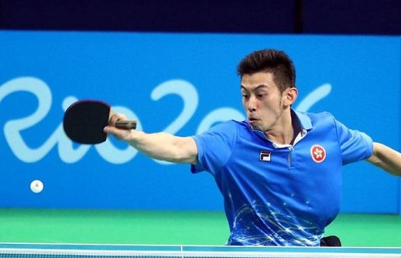黃鎮廷、許昕──世界乒乓球壇直拍僅存一點血脈 (圖片來源:std.stheadline.com)