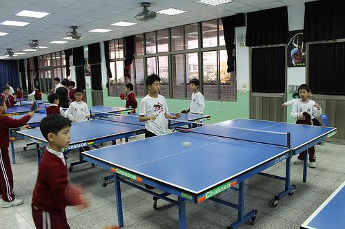 乒乓球欲打得出色,小朋友最缺乏者為何? (Image courtesy of hmps-photo at Flickr)