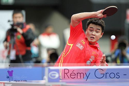 乒乓球正手進攻技術,虎虎生風三要點 (Image courtesy of Remy Gros at Flickr)
