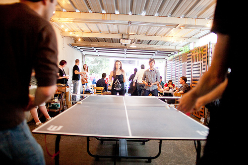 乒乓球雙打規則有何特別? (Image courtesy of Chris Guillebeau at Flickr)
