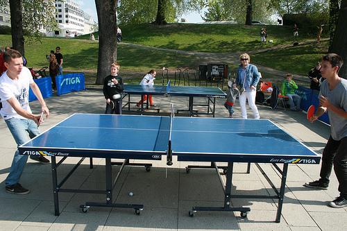 乒乓球訓練三個重要指標,助你練習事半功倍 (Image courtesy of Idrettsforbundet at Flickr)
