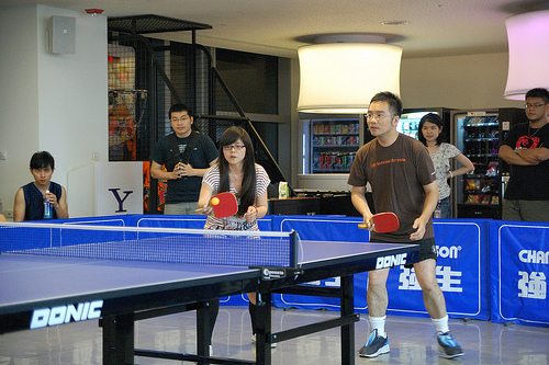 乒乓球直板令人神傷之小故事兩則 (Image courtesy of Ming-yen Hsu at Flickr)