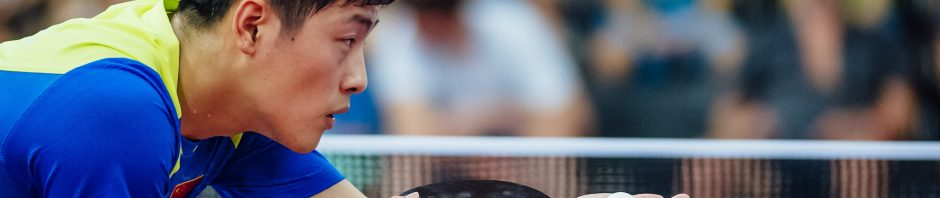 從新面孔鄭培峰,看乒乓球僅存直拍迴異風格 (Image courtesy of ittf.com)