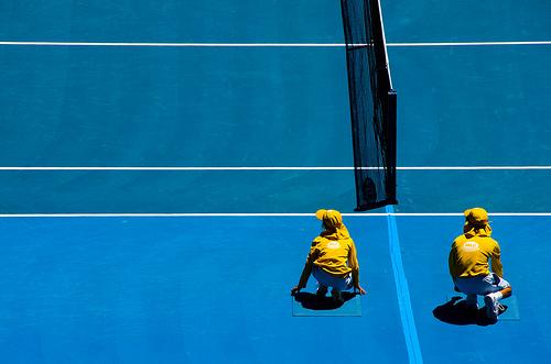 乒乓球比賽為何無拾球僮?(Image courtesy of richardkhor at Flickr)
